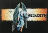 Megadeth - 'Angel' Poster Flag